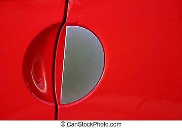 SSR Handle - Handle detail of a Chevrolet SSR