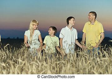 stálý, bojiště, rodina