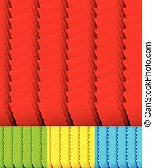 stálý, dát, rectangles., 3, překrývání, barvy, /, grafické pozadí, monochróm