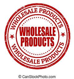 stämpel, grosshandel, produkter