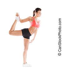 stående, fitness