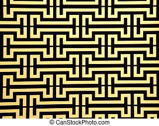 stål, fönstren, mönster, ram, stång, Uppe, gul, nära