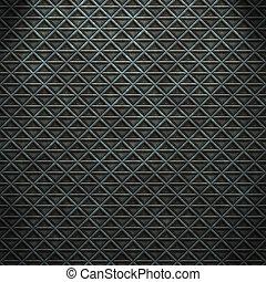 stål, firkant, seamless, baggrund