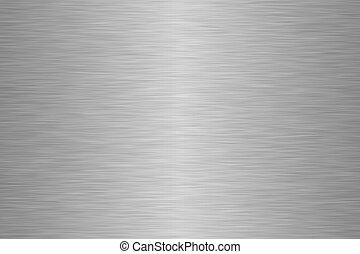 stål, rostfri, yta