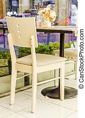 stół, krzesło