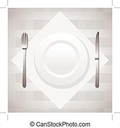 stół umieszczenie