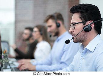 stöd, bakgrund, specialist, kolleger, teknisk
