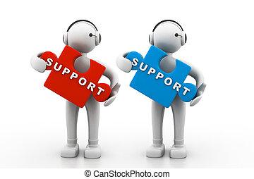 stöd, teknisk