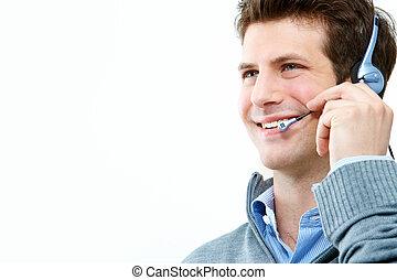 stöd, telefon