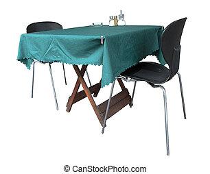 stühle, tisch
