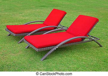 stühle, zwei