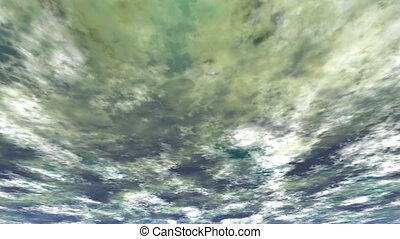 stürmen wolken, (seamless, loop)