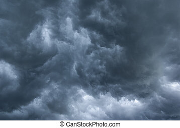stürmisch, clouds.
