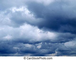 stürmisch, wolkenhimmel
