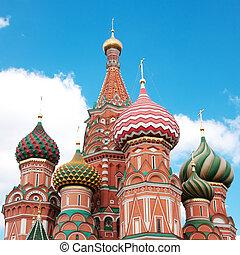 st. βασιλικός καθεδρικός , μέσα , μόσχα , επάνω , αριστερός...