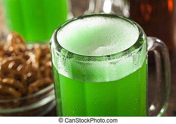 st. , μπύρα , πράσινο , patrick's, ημέρα