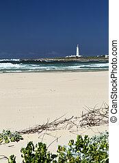 st. 。, アフリカ, francis, 岬, 浜, 南