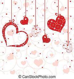 st., グリーティングカード, バレンタイン
