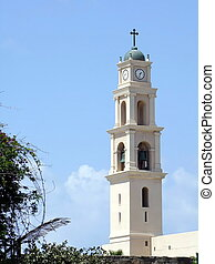 st. 。, タワー, 時計, 教会, ピーター