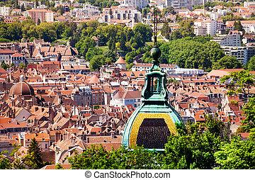 st. 。, ドーム, besancon, 都市の景観, 大聖堂, ジーン
