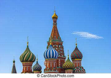 st. 。 ベズルの カテドラル, モスクワ, 赤の広場