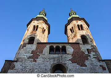 st. 。, 教会, krakow, アンドリュー