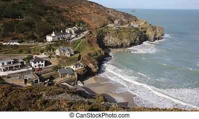 St Agnes north Cornwall England UK - St Agnes north coast of...