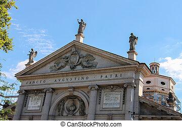 St. Agostino Basilica in Piacenza, Italy