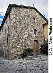 St. Agostino Church. Bevagna. Umbria.