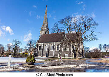 St Alban's Church Copenhagen Denmark