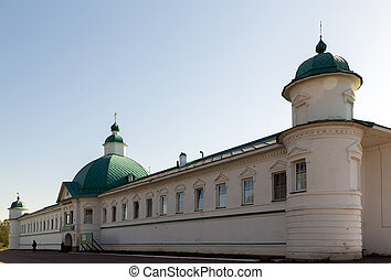 st., alessandro, di, svir, monastero