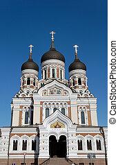 St. Alexander Nevsky Cathedral in Tallinn, Estonia.