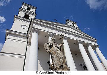 St. Alexander's Church in Suwalki - Poland