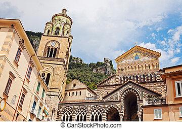 St. Andrea Dome. Amalfi, Campania, Italy
