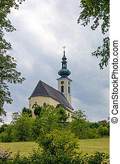 St Andreas Church, Attersee - Church Sankt Andreas in...