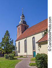St. Andreas church in the center of Cloppenburg, Germany
