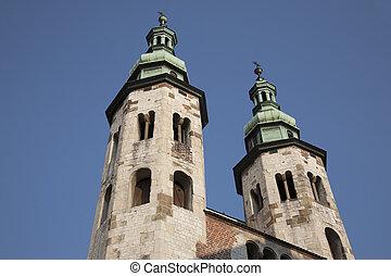 St Andrew Church; Krakow; Poland;