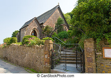 St Andrews church Cawsand Cornwall