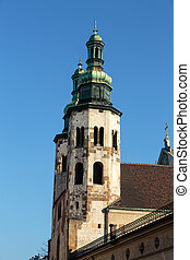 St. Andrew's Church in Cracow. Poland