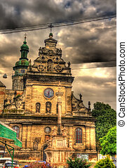 St. Andrew's Church in Lviv, Ukraine