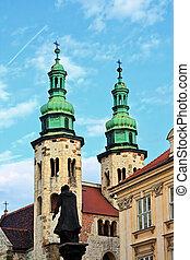 St Andrews church, Krakow, Poland