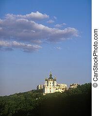 St. Andrew's Church. Kyiv, Ukraine.