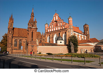 st., anne, chiesa, e, chiesa san. francis, e, bernadine