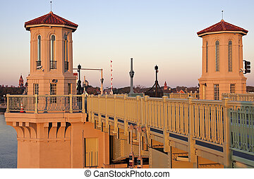 St. Augustine - bridge at sunrise