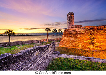 St. Augustine, Florida Spanish Fort
