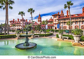 St. Augustine Florida - St. Augustine, Florida, USA.