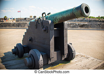 St. Augustine Fort Cannon