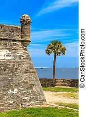 St. Augustine Fort, Castillo de San Marcos National...