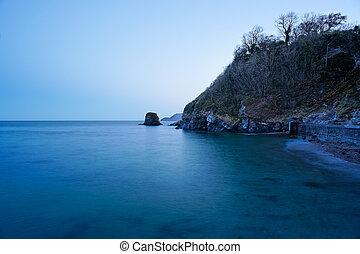 st., austell, plaża