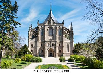 St. Barbora church, Kutna Hora (UNESCO), Czech republic -...